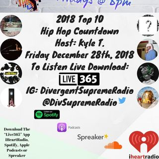 2018 Top 10 Hip Hop Countdown