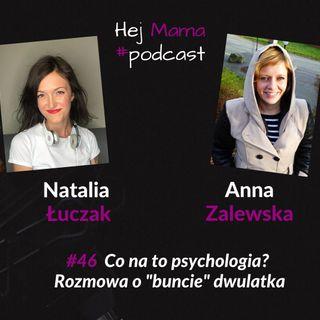 """#046 - Co na to psychologia? O """"buncie"""" dwulatka z Anną Zalewską"""