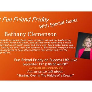 Special Episode with Fun Friend Friday Guest Bethany Clemson