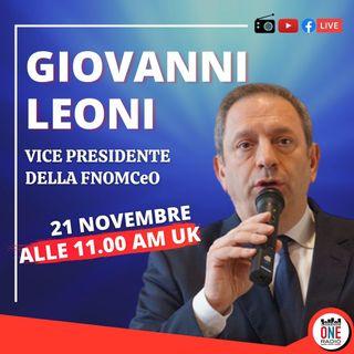 """Dott. Giovanni Leoni: """"Ora in italia il virus colpisce la classe socialmente attiva"""""""