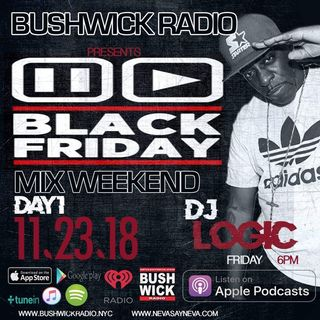 DEEJAY LOGIC  80'S HIP-HOP MIX BLACK FRIDAY BUSHWICKRADIO DAY.1