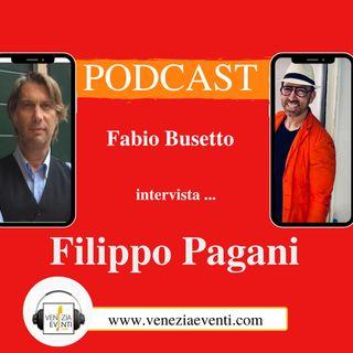 Due chiacchiere con lo Chef Filippo Pagani.