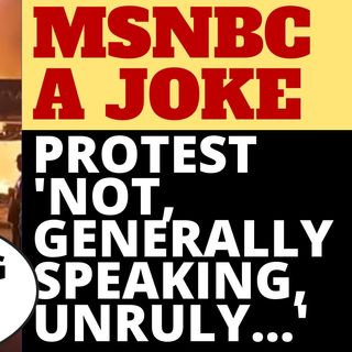 MSNBC REPORTER DENIES REALITY AT RIOT
