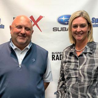John Waldrop and Wendy Cunningham with Titan Electric Georgia