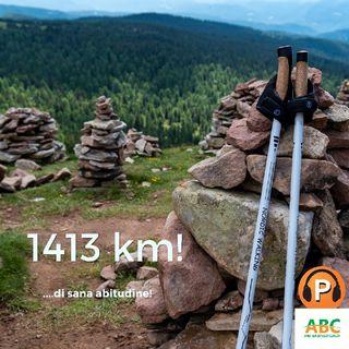 1413 Km.... di una Sana Abitudine!