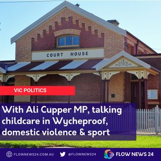Ali Cupper MP for Mildura on child care, domestic violence @AliCupper #springst #dv #domesticviolence