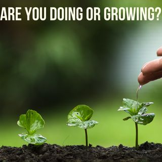 Are you Doing or Growing?