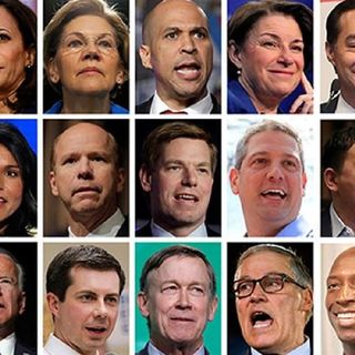 23 Democrats Running For President : See How Many jobs Trump Created! Who Else Should run?