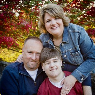 Dad to Dad 55 - Becky Davidson, a solo parent of a son with profound special needs.