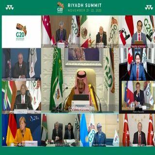 López Obrador participa en la Cumbre del G20