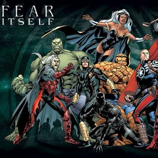 """Source Material #247 - """"Fear Itself"""" (Marvel, 2011)"""