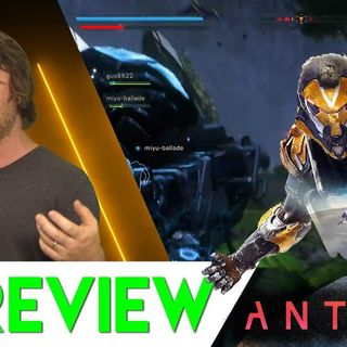 Gridnfest or gameplay magic??? Anthem PS4 Review (Final)