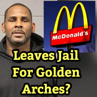 R. Kelly Signs Autographs at McDonalds
