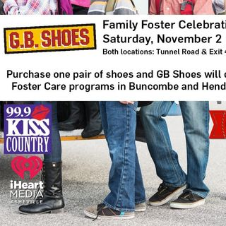 "Sharon Talks With Scott Houser About The ""G.B Shoes Foster Family Celebration""!"