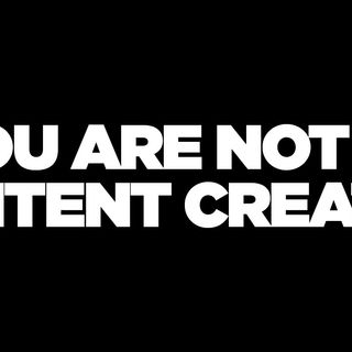 Content Creators are failing you and here is why