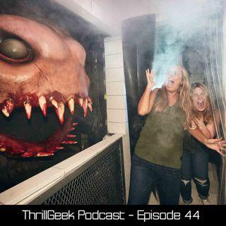 Episode 44 - Halloween Horror Nights 28 Opening Weekend