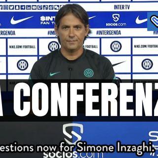 Inter-Genoa, riascolta la conferenza stampa di Simone Inzaghi in un minuto