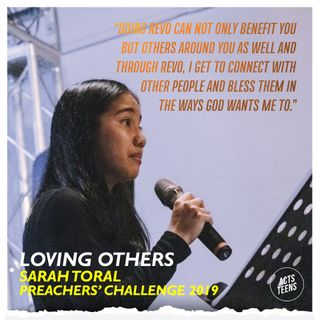 Preachers' Challenge 2019 - Loving Others - Sarah Toral