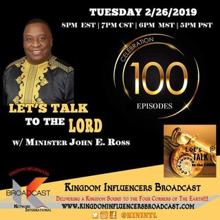 Let's Talk to the LORD with Minister John Ross