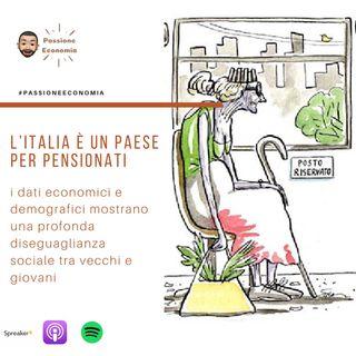 Italia, il paese degli anziani e delle forti disugaglianze con i giovani