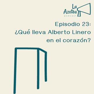 23. ¿Qué lleva Alberto Linero en el Corazón?