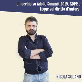Adobe Summit 2019, GDPR e Legge sul diritto d'autore: Ecco le ultime novità