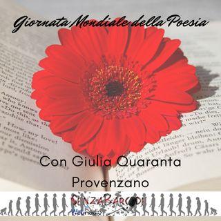Giulia Quaranta Provenzano e la giornata mondiale della Poesia