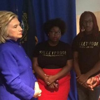 Hillary Clinton and Black Lives Matter