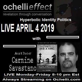 Hyperbolic Identity Politics