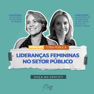 Lideranças femininas no setor público