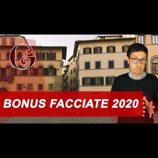BONUS FACCIATE 2020: come funziona e quali requisiti per la detrazione