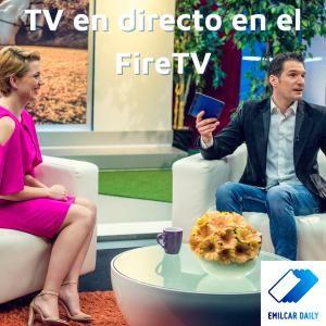 TV en directo en el FireTV