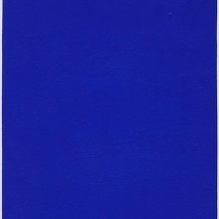 1. Critico - Yves Klein, Monochorme bleu sans titre