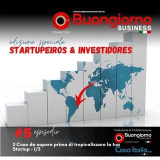 Startupeiros & Investidores 5: 3 cose da sapere prima di tropicalizzare la tua startup 1/3
