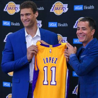 My Thoughts On Brook Lopez Becoming A Laker