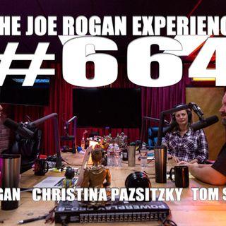 #664 - Tom Segura & Christina Pazsitzky