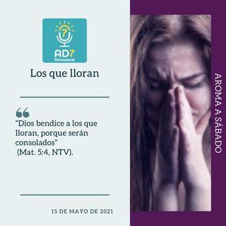 15 de mayo - Los que lloran - Devocional de Jóvenes - Etiquetas Para Reflexionar
