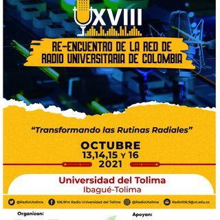 Re-Encuentro de la Red de Radio Universitaria de Colombia 2021