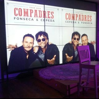 Se lanzó el 'Tour Compadres' con Cepeda & Fonseca