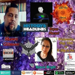 Two Special guests This week! Valerie Wright from The Ravens Call and returning guest Bryan Mersol From Your Paranormal