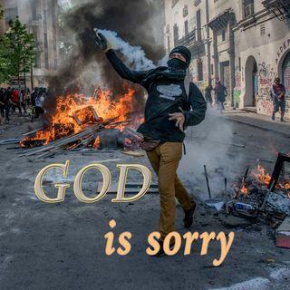 God is sorry, Genesis 6:5-7