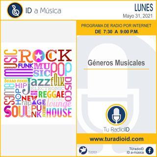 Géneros musicales