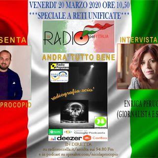 Radiografia Scio' Speciale - LA RADIO PER L'ITALIA 20-03-2020