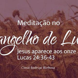 Episódio 137 - Lucas 24:35-43 - Jesus Aparece Aos Onze Apóstolos - Rodrigo Barbosa