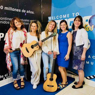 ** Las Marti presentan su nuevo material. Carolina Cano y Gloria Orlandi en Alzheimer Association