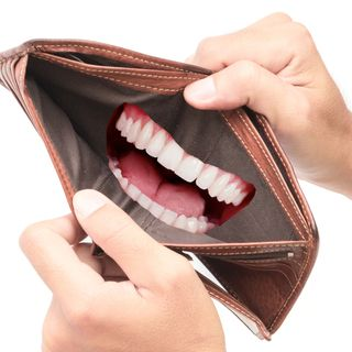 """Open Wide,"" said the dentist, ""No, Not Your Mouth. Your Wallet!"