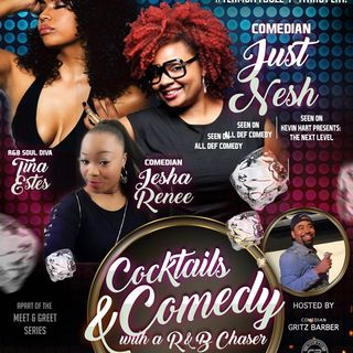 Cocktails & Comedy w/ an R&B Chaser