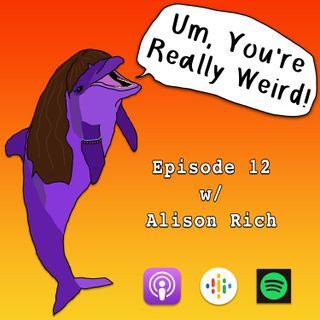 Ep 12: Jawbreaker w/ Alison Rich