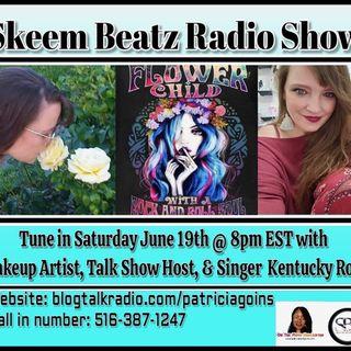 Bigo  Show Host Kentucky Roze Stops By Skeem Beatz Radio To Talk To DJ Skeem. and Patricia M. Goins