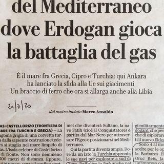Una Turchia irrefrenabile nel nuovo contesto iconografico internazionale (24lug2020)